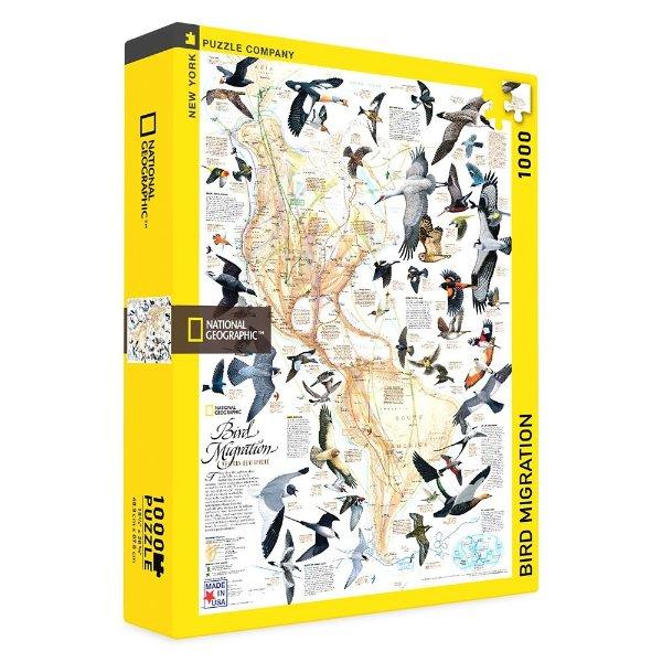 鸟类迁徙 拼图