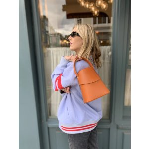 Meli MeloGitana Sunset Orange Top handle Bag for Women