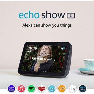 接近史低价!Echo Show 8