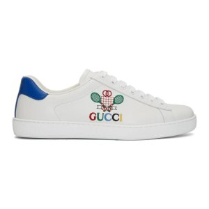 Gucci官网定价$850男士小网球运动鞋