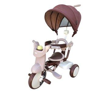 iimoTricycle #02 升级版带顶篷三轮车(舒适棕)