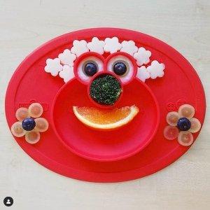 7.5折独家:EZPZ 婴幼儿餐具促销,吃饭也能整出 ins 风
