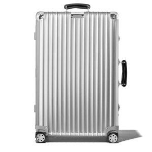 Classic Check-In M Aluminum Suitcase | Silver | RIMOWA
