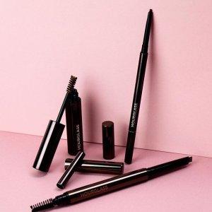 $39起 套装$40(价值$80)+送自选中样上新:Hourglass 彩妆产品热卖 收极细眉笔、定妆粉mini套装