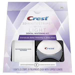 Crest美白牙贴10张+蓝光美容仪