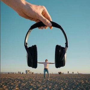 现价£279(原价£329.95)Bose QuietComfort 35蓝牙无线耳机