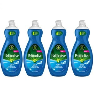 Palmolive Ultra Dish Soap Oxy Power Degreaser, (Pack of 4)