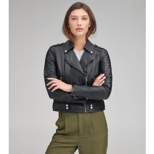 Andrew MarcLEANNE FAUX LEATHER MOTO JACKET