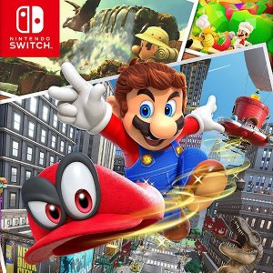 $48 Super Mario Odyssey Nintendo Switch Game