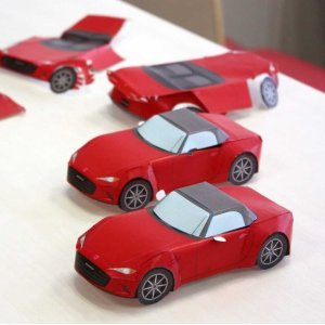 FreeMazda Papercrafts