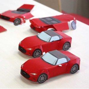 培养动手能力 丰富宅家生活Mazda官方立体汽车折纸模型免费下载