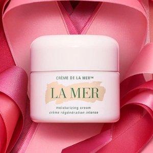送精华5ml + 面霜买1送1La Mer x 粉红丝带乳腺癌防治运动 50%捐献公益组织