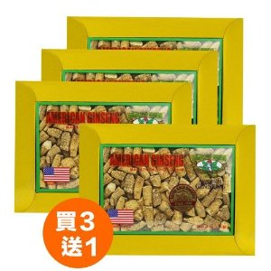 American Ginseng Prong Large (cut small pieces) 4oz box x 4 (Buy 3 get 1 free)