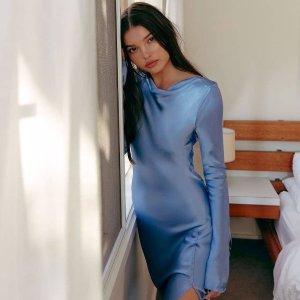 低至6折+一律叠75折The Iconic 限时闪促 收YSL平替、绝美连衣裙$40