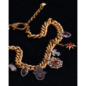 Nicole MillerGold Charm Necklace