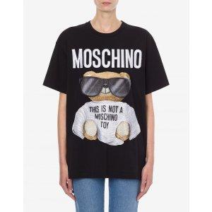 Moschino刺绣小熊T恤