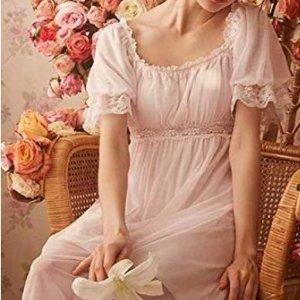 低至$17 美如油画维多利亚风格复古仙女睡裙热卖