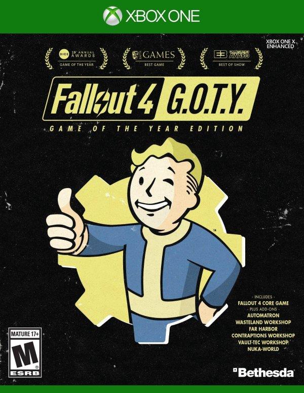 辐射4 年度版 Xbox One 实体版