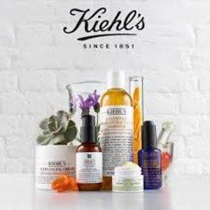 9折Kiehl's 精选护肤品热卖 收高保湿面霜