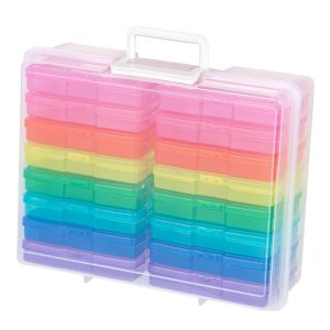 Simply Tidy Rainbow Photo & Craft Keeper
