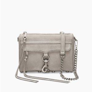 f264a8d19 Rebecca MinkoffLight Grey Mini M.A.C. Crossbody Bag | Rebecca Minkoff