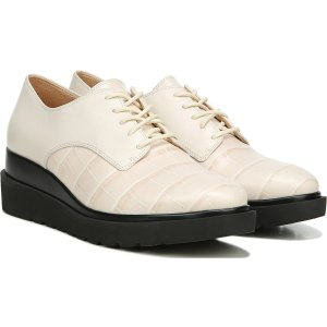 Naturalizer.com  Sonoma in Porcelain Croco Leather Sneakers