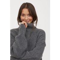 H&M 高领毛衣