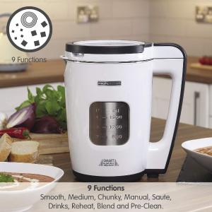 5折起!慢炖锅仅26.9!闪购:Morphy Richards 厨房电器 收煲汤机、空气炸锅、搅拌器