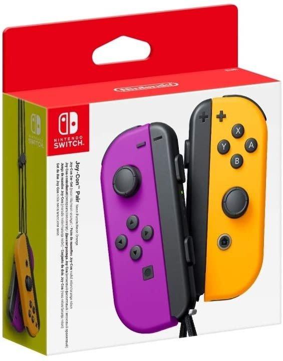 Switch Joy Con 手柄 紫/橙