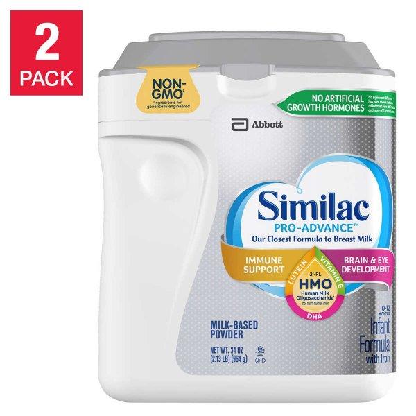 Pro-Advance 婴儿奶粉 34盎司*2罐
