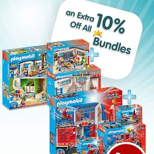 Up to 40% OffPlaymobil Bundle Sale