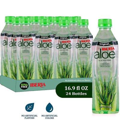 $21.99+Free ShippingIberia Aloe Vera Juice Drink , Original, 16.9 Fl Oz (Pack of 24)