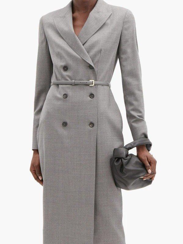 Hidalgo羊毛大衣