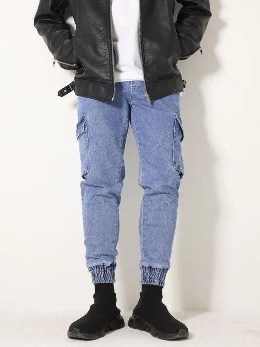Xtonz 小脚牛仔裤