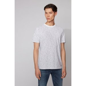 Hugo Boss$50 Off $250Cotton-pique T-shirt with all-over print