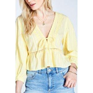 Jack Wills黄色衬衫