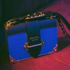低至5.5折 入cahier潘多拉盒子Prada 博主街拍最爱的复古美包专场