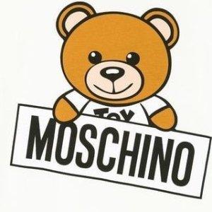 5折起+叠95折 超萌小熊斜挎包$500+独家:Moschino 小熊头合集 男女款全 收卫衣、T恤 笑脸tote包