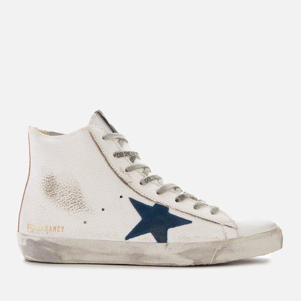 高帮小脏鞋