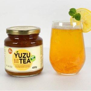 茶颜悦色在家自制 400ml大容量仅€5.92Allgroo 韩国蜂蜜柚子茶 不爱喝白水的看过来 自制冰饮水果茶
