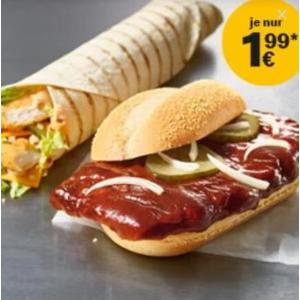 不需要APP和优惠券麦当劳鸡肉卷下周特惠,只要1.99欧