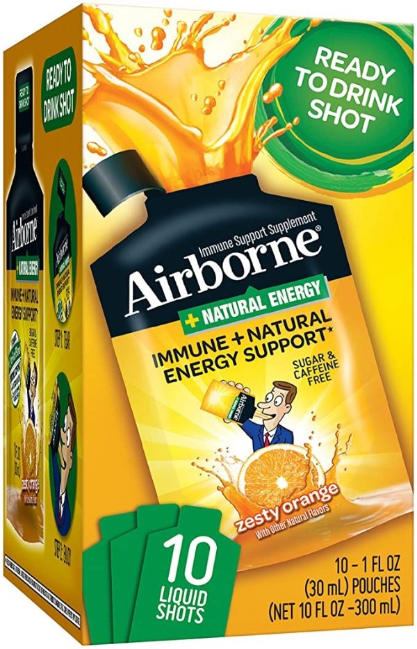 Airborne 维生素C冲剂 1 fl Oz 10袋