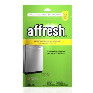 $4.48 包邮Affresh W10282479 洗碗机清洗剂 6片