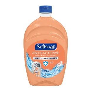 $6.49+第2件半价 补货Softsoap 抗菌洗手液补充装 超大瓶 1.47L