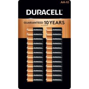 $16.98Duracell AA 5号碱性电池 48支装