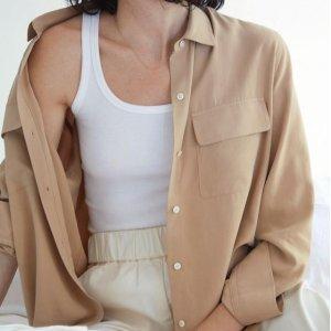 4折起 €15收法式上衣Everlane 清仓区大促开始 满满的高级感 多款居家服系列上新