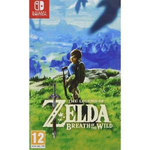 Nintendo塞尔达传说 旷野之息 Switch 实体版