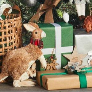 买三送一 $5.99收麋鹿挂饰Myer 又美又萌的圣诞装饰物热卖 为圣诞节做好准备