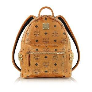 MCMCognac Mini Stark Backpack