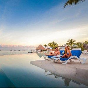 $79起 含住宿+餐饮+娱乐等墨西哥科苏梅尔岛 Grand Park Royal 4星级全包度假村
